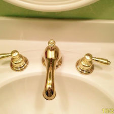 Picture of brass body faucet
