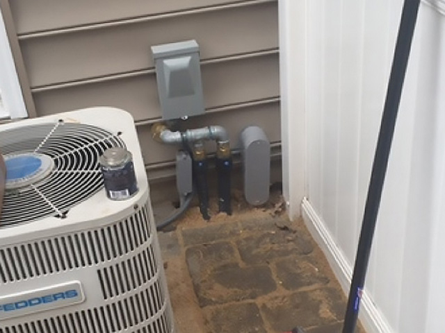 Gas and Electrical to Outside Media PA
