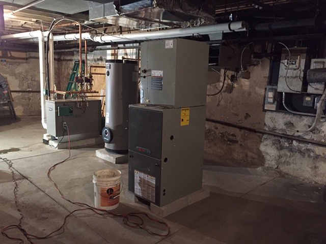 Trane Furnace with AC