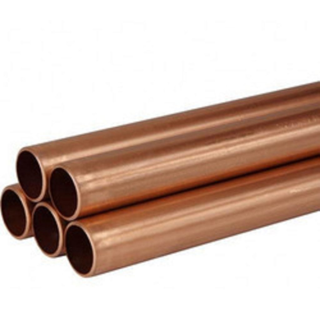 Picture of a bundle of copper pipes